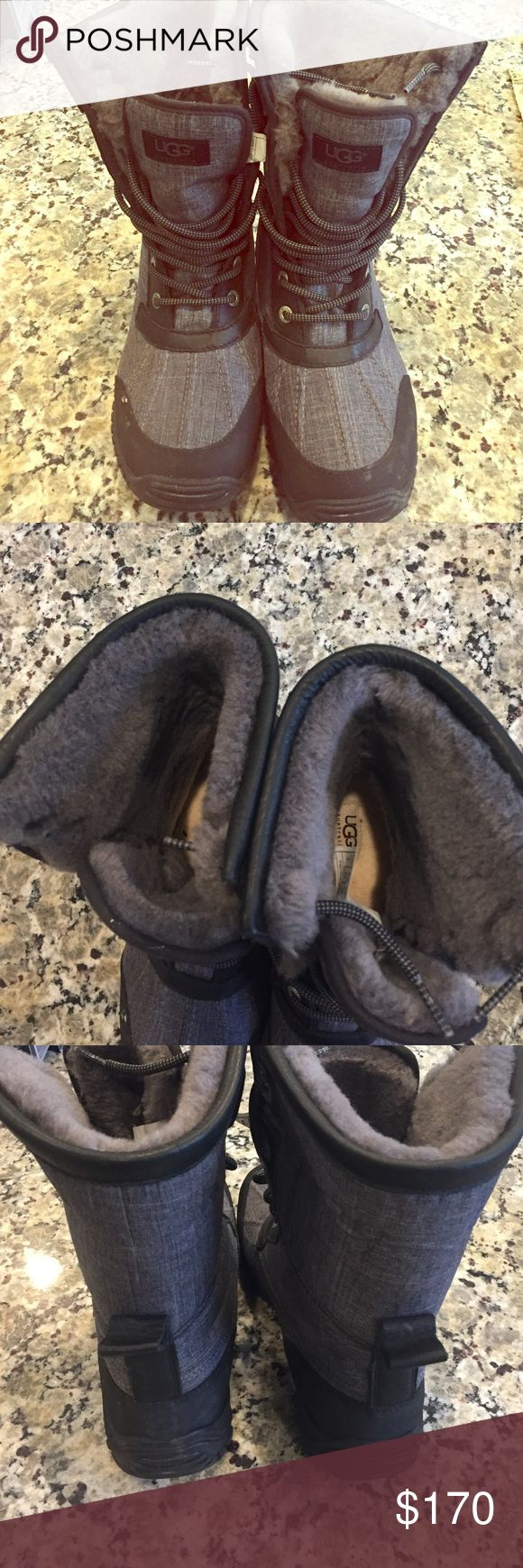 Ugg adirondack boots us size 8 women's Excellent like new condition. Worn once. No stains UGG Shoes Winter & Rain Boots