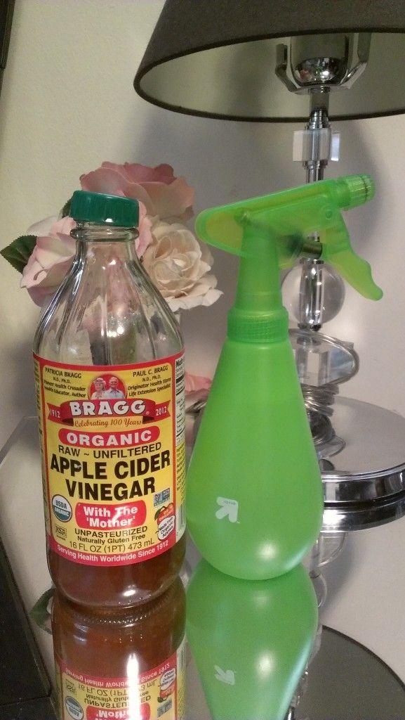 diy-apple cider vinegar scalp wash for dry, itchy scalp