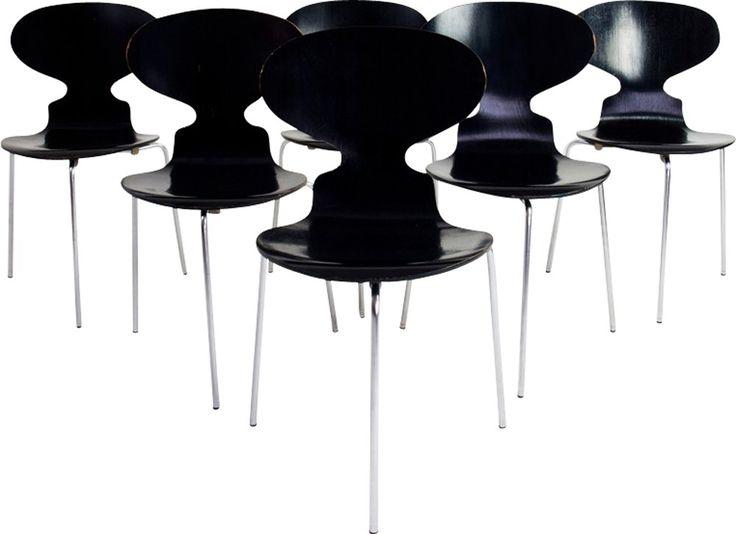 1000 id es sur le th me chaise danoise sur pinterest for Chaise fourmi