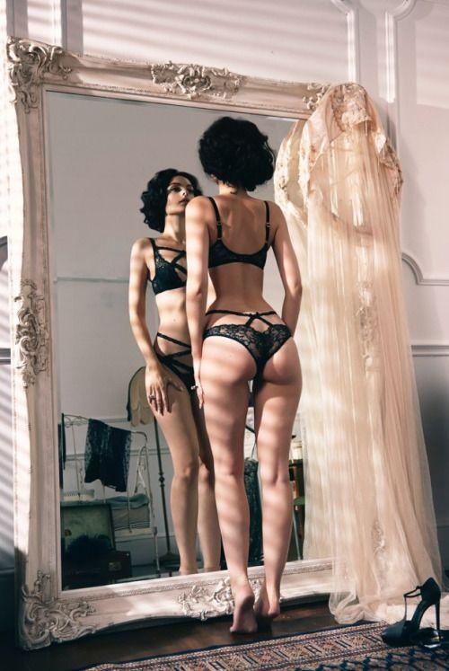 exclusivelyselectedlingerie:  Photographer: Diana Gomez ~ Model: Dioni Tabbers ~ Lingerie: Agent Provocateur