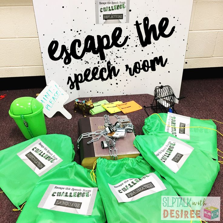 Escape the Speech Room - Learn all about the field of speech-language pathology. Perfect for Better Speech and Hearing Month!