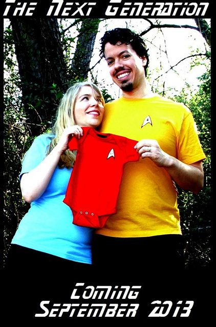 WHY WOULD YOU MAKE YOUR BABY WEAR A RED SHIRT?!?! MURDERERS!