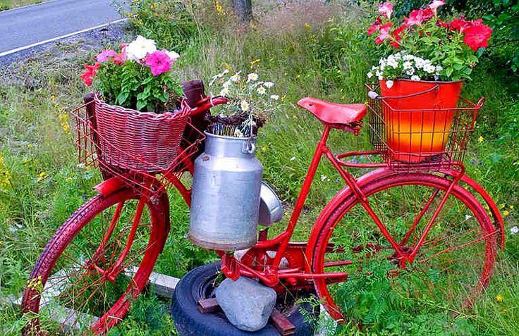 12 ideas originales para decorar el jard n ideas - Ideas originales jardin ...