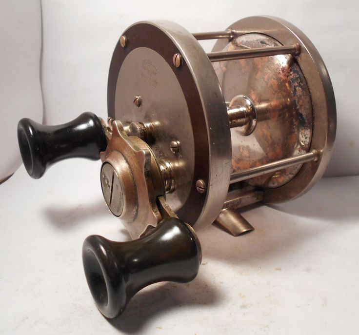 23 best images about old conventional sea fishing reels on for Antique fishing reels