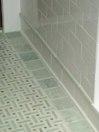 Basketweave Marble Tile Border Of 4x4 Quot Unpolished Ming