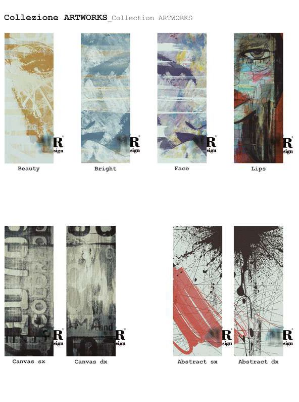 Collezione ARTWORKS_ARTWORKS Collection di #MRartdesign