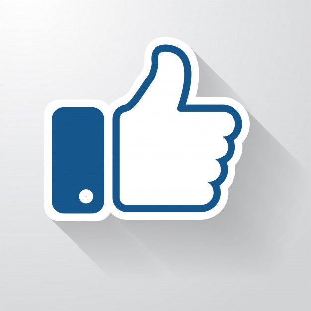 Icone Facebook Like Avec Une Longue Ombre Qui A L Air Simple Pouces Vers Le Haut Like Icon Instagram Likes And Followers Long Shadow