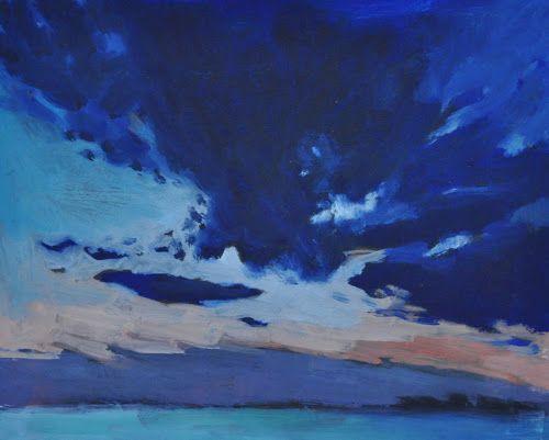 Hel, olej na tekturze #sztuka #galeriasztuki #obraz #pejzaż #morze
