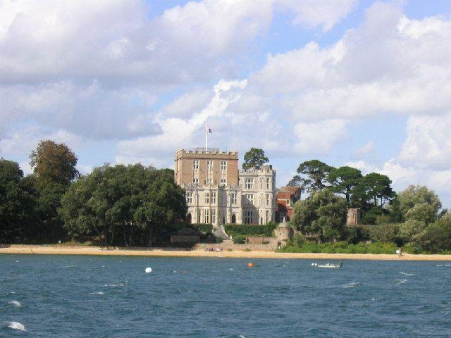 Branksea Castle, Brownsea Island, Poole, Dorset
