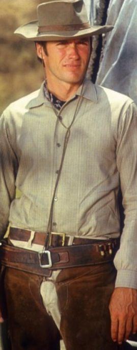 Clint Eastwood as Rowdy Yates