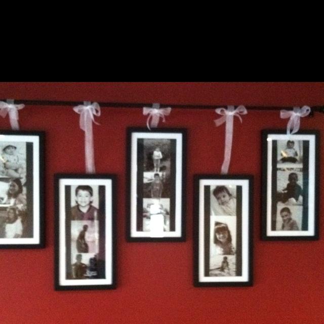 My photo frames :)Living Room