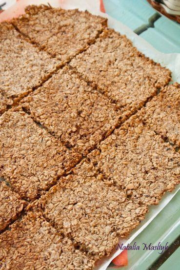 Как приготовить хрустящий овсяный крекер - пошаговый рецепт |  Dietplan.ru