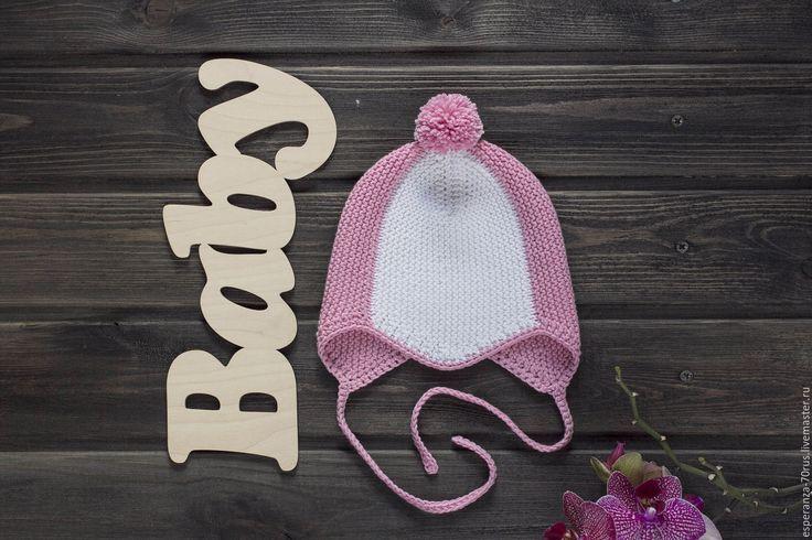 Купить Шапочка детская вязаная - шапочка вязаная, детская шапочка, детская…