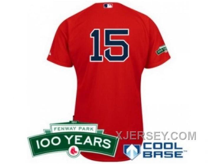 http://www.xjersey.com/mlb-boston-red-sox-15-dustin-pedroia-red-cool-base-100th-anniversary-patch-hot.html MLB BOSTON RED SOX #15 DUSTIN PEDROIA RED COOL BASE 100TH ANNIVERSARY PATCH HOT Only 32.17€ , Free Shipping!