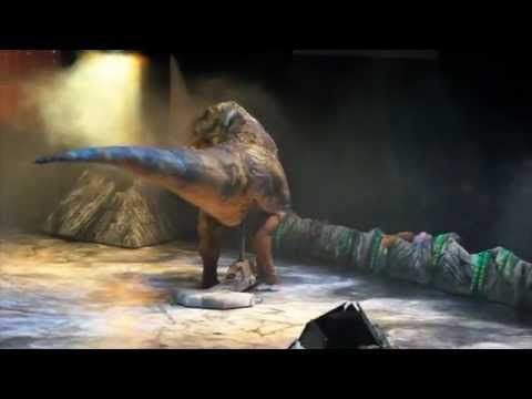 Walking with dinosaurs - live arena tour london o2