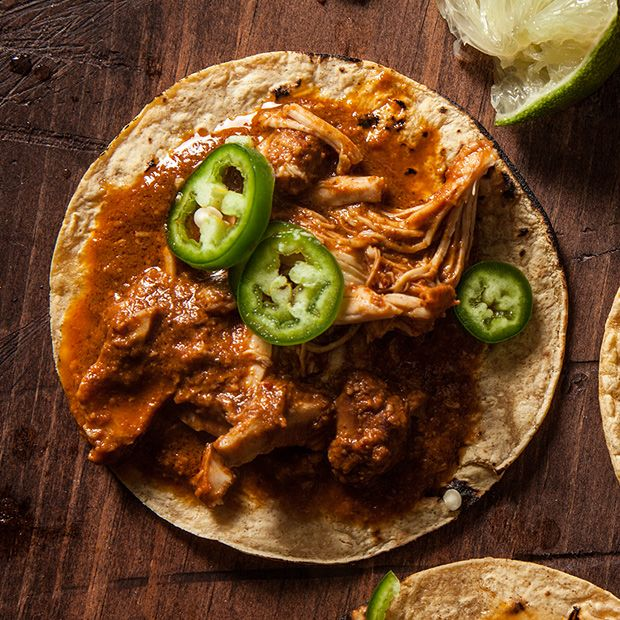 Slow Cooker Chicken Mole Recipe - CHOW