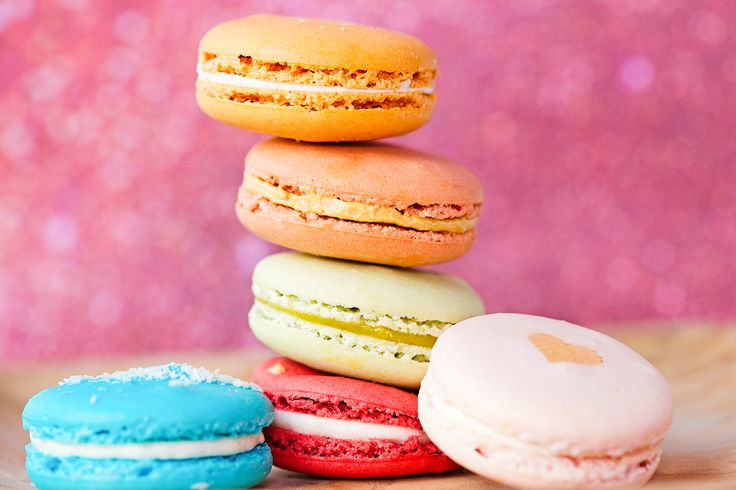 French macarons from Anet Gesualdi Macarons, so yummy! @agmacarons #agmacarons #macarons #foodphotography