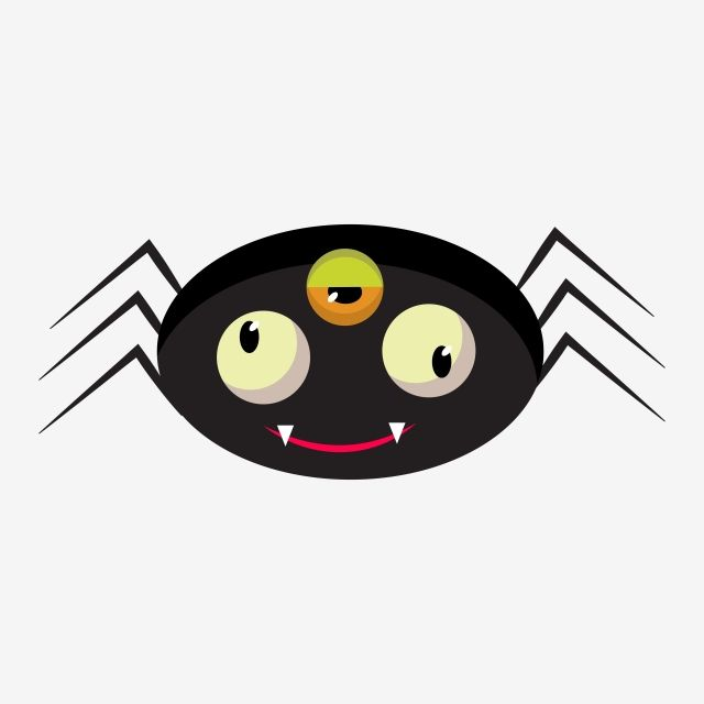 Spooky Spider Icon Goth Wallpaper Black And White Art Drawing Halloween Icons
