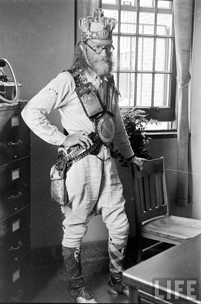 "Pilgrim State Hospital - resident 1936- ""Capt. Howdy"" I presume..."