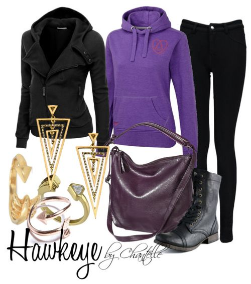 Kate Bishop inspired outfit.