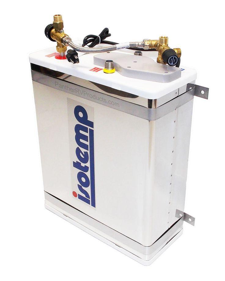 Indel Webasto Isotemp 601623 Slim Square 42 Gal 16L Electric Water Heater Sprinter Van ConversionConversion
