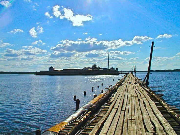 Остров Огненный, Новоозеро, Вологодская область.