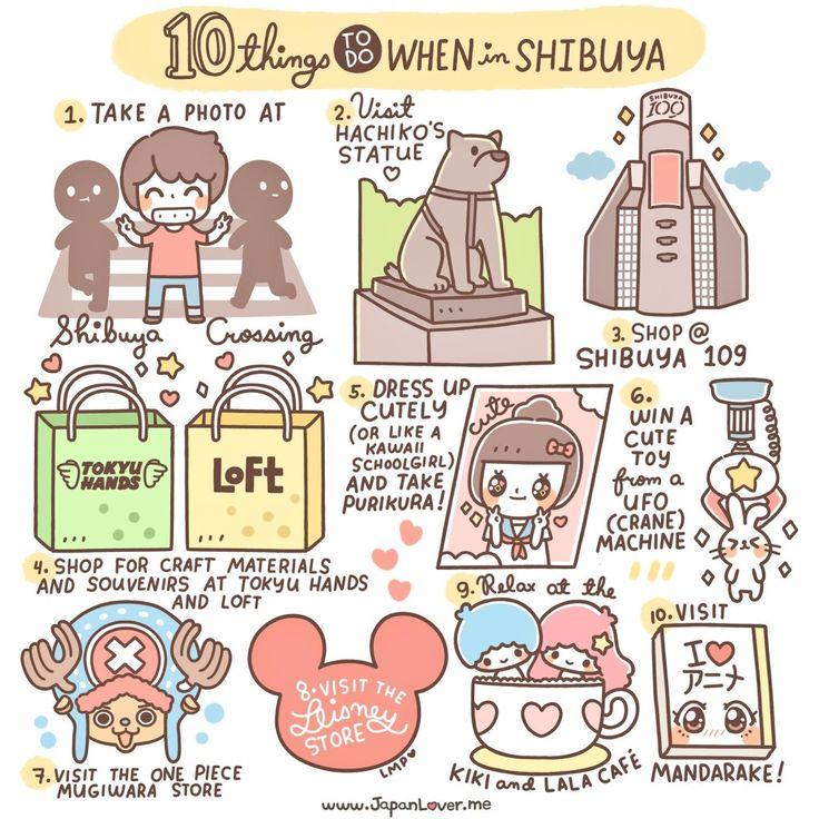 10 Things To Do When in Shibuya, Tokyo!