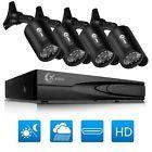 XVIM 4CH HDMI DVR 800TVL Outdoor Surveillance CCTV Home Security Camera System
