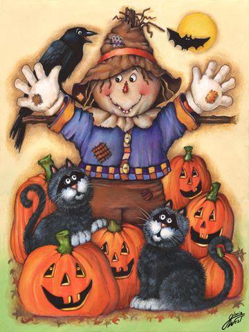 Scarecrow's Halloween Pumpkin Patch