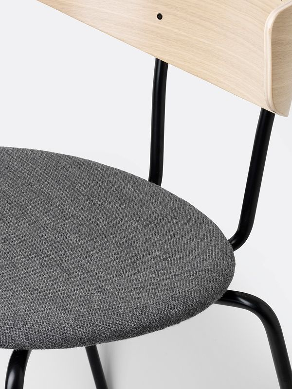 Herman Chair - Oak/Light Grey 3