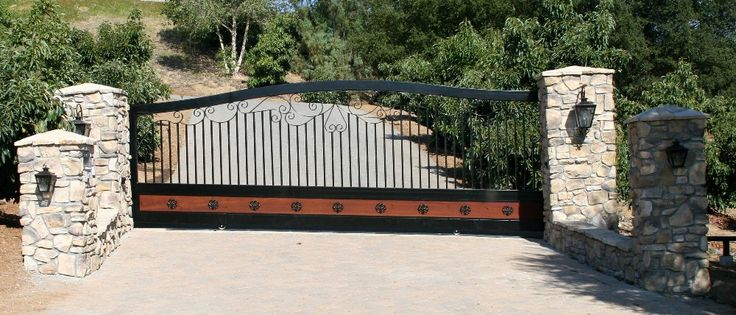 Best 25 Automatic Gate Ideas On Pinterest