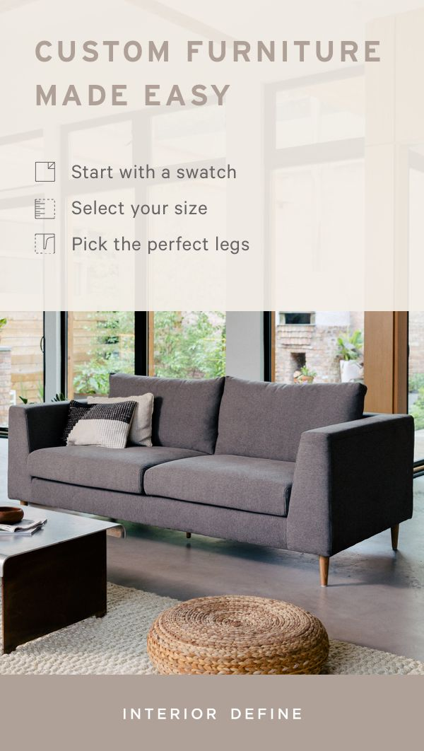 Discover A Sofa That Fits Perfectly Into Your Home With Interior