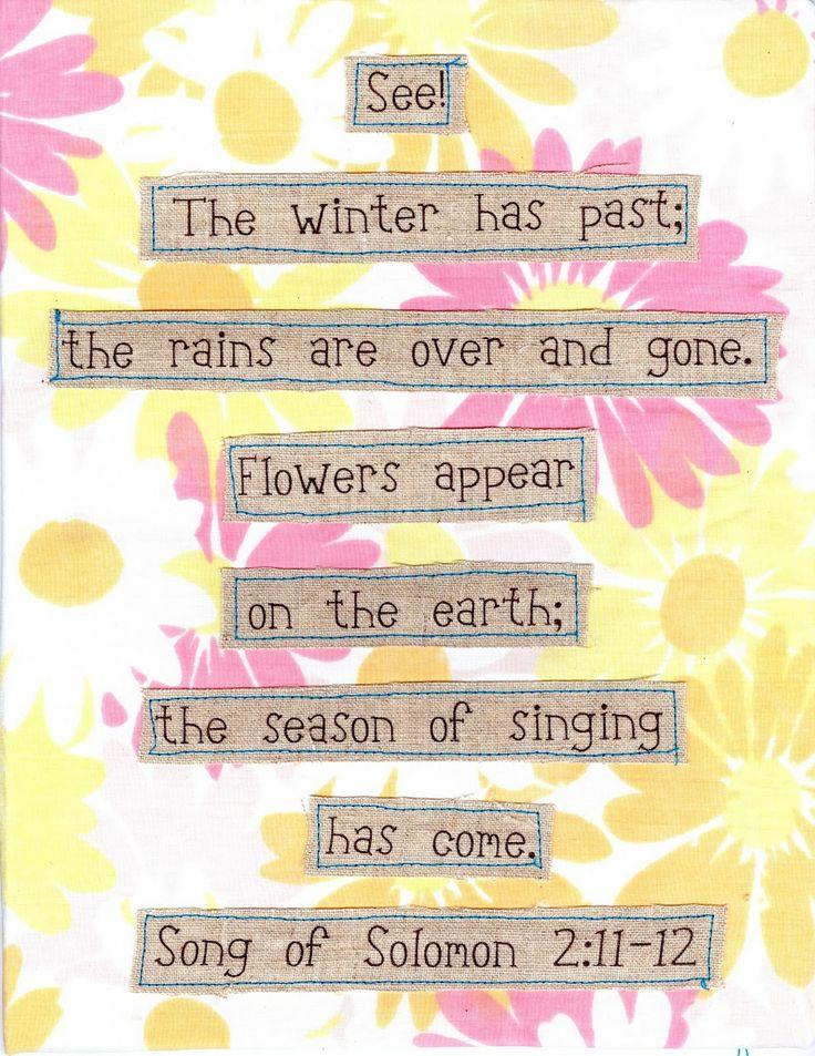 Spring Time decor