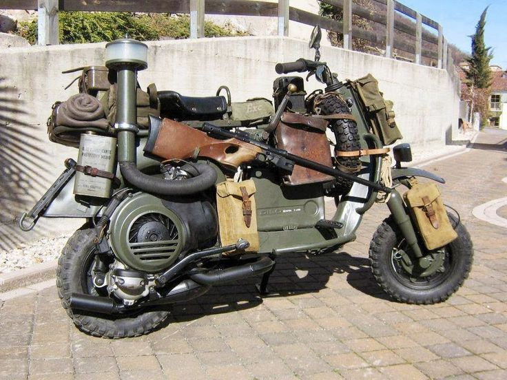 Zombie apocalypse survival bike?                                                                                                                                                                                 More