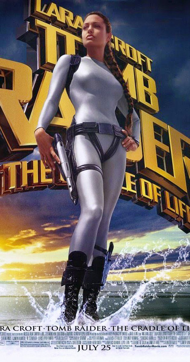 Directed by Jan de Bont.  With Angelina Jolie, Gerard Butler, Chris Barrie, Ciarán Hinds. Adventuress Lara Croft goes on a quest to save the mythical Pandora's Box before an evil scientist and recruits a former Marine turned mercenary to assist her.