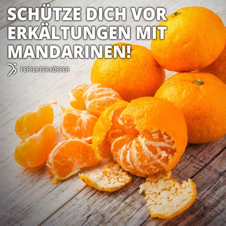 Mandarinen sind der Burner 👍  🍊Mandarinen enthalten die Vitamine A, C, E, Folsäure und sind reich an Kalium und Kalzium. 🍊Höchster Selengehalt unter den Zitrusfrüchten. Wirken antioxidativ und schützen die Zellen. 🍊Aufgrund ihres hohen Vitamin-C-Gehalts stärken Mandarinen unser Immunsystem und schützen uns vor Erkältungen. 🍊Mandarinen fördern die Blutgerinnung, regen den Stoffwechsel an und sind gut für die Schilddrüse. 🍊100 g enthalten etwa 50 kcal.