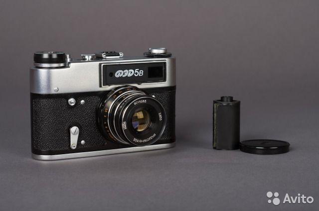 Фотоаппарат Фэд 5 новый (фэд 5в)— фотография №1