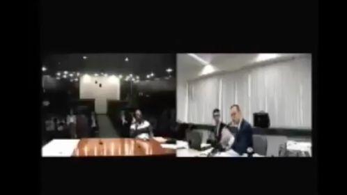 VÍDEO: depois da farra com Aecio Neves(PSDB/MG)em festa ,Sergio Moro (PSDB/PR) indefere perguntas de advogado de Lula(PT/SP) a zelador do triplex do Guarujá