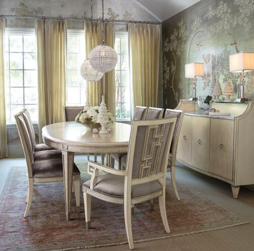 Beige Dining Area...the little book of secrets...