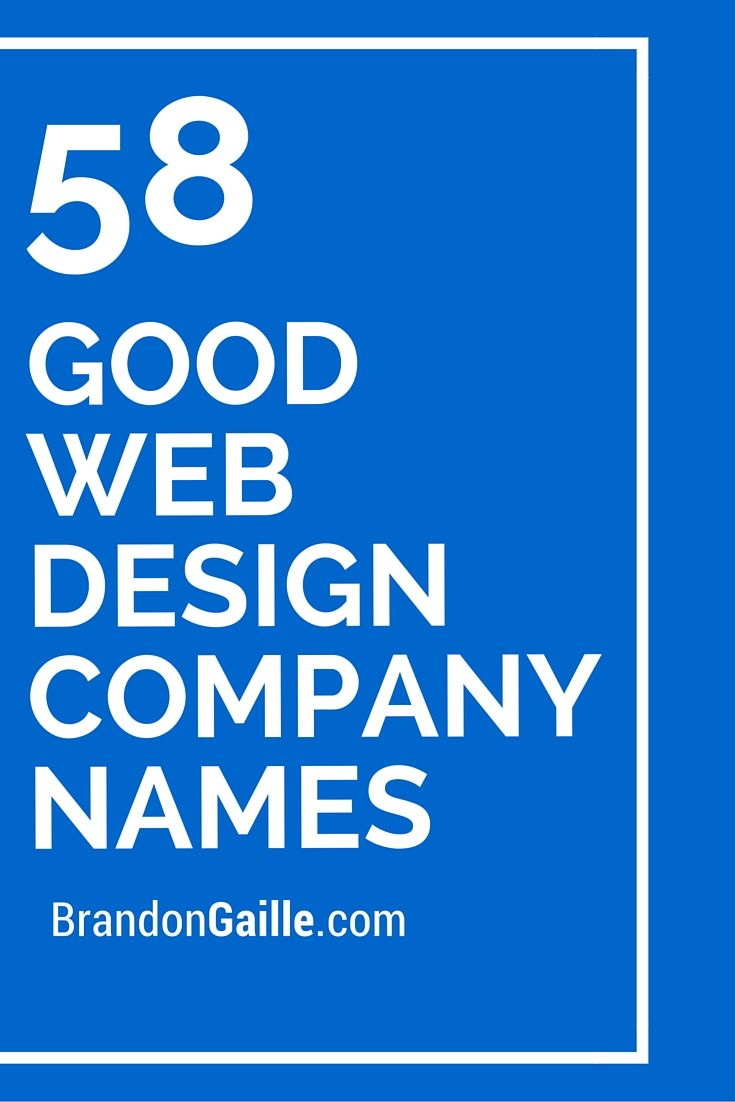 Best 25+ Design company names ideas on Pinterest | Good company ...
