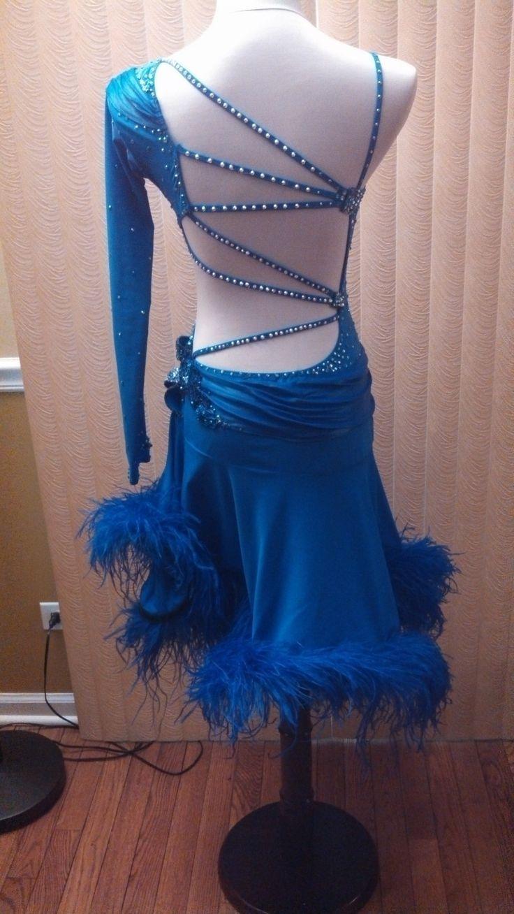 Latin Ballroom Dress US Size 4 6 | eBay