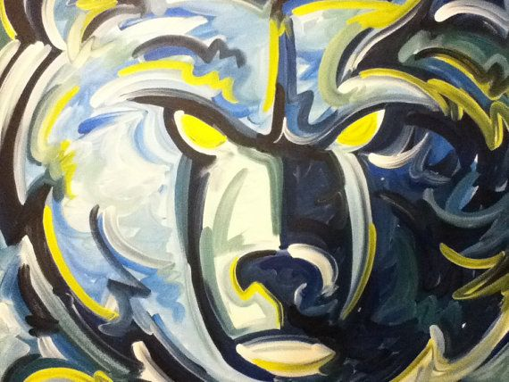 Memphis Grizzlies Painting by Justin Patten Sports Art Basketball
