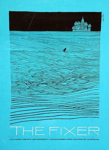 Saul Bass - The Fixer, 1968.