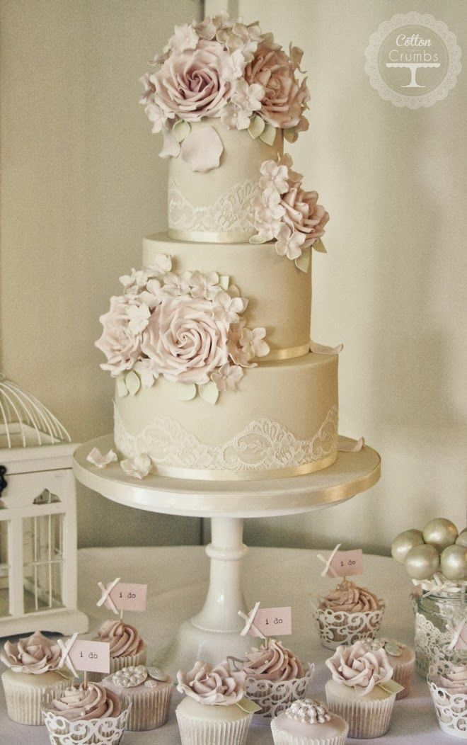 Romantic creation ~ Cake Design: Cotton and Crumbs