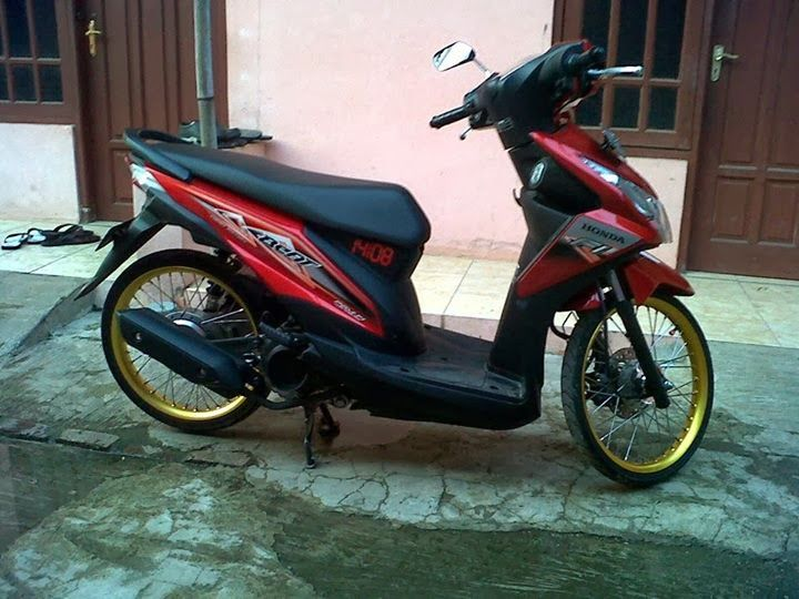 referensi honda beat fi modifikasi