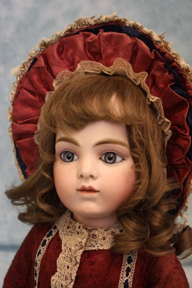 "Antique 27"" (69cm) Gorgeous Bru Jne size10 French Bisque Bebe, Gorgeous outfit,"
