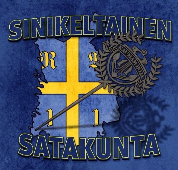 Satakunta on sinikeltainen kaudella 2014-15 by Raumamboja. Rauman Lukko