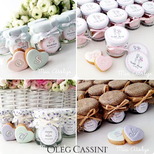 Romantik ve pastel tonlarla hazırlanmış Mia Atölye Kavanoz Nikah Şekerleri online satış mağazamızda! #OlegCassiniButik www.olegcassini.com.tr