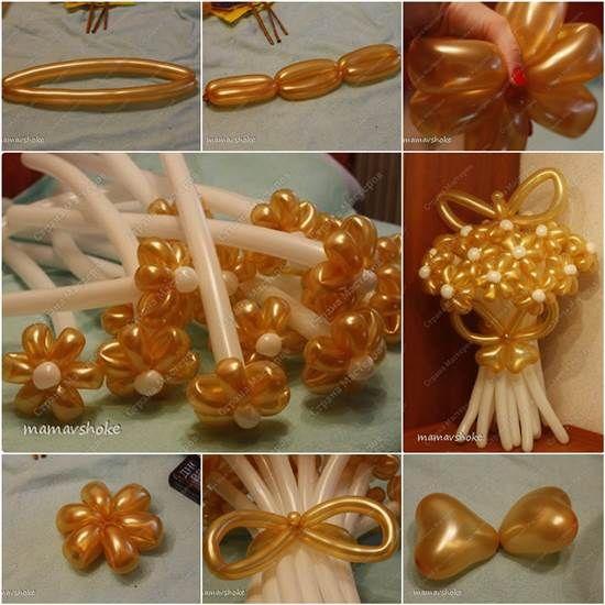 How to Make DIY Balloon Daisy Flower Bouquet | iCreativeIdeas.com Like Us on Facebook ==> https://www.facebook.com/icreativeideas