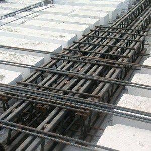 Poutre et pilier à structure mixte acier-béton Beam NPS® LIGHT by Tecnostrutture